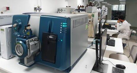 laboratorio de cromatografía